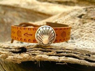 Camino bracelet from Santiago de Compostela and the Way of St James, Spain