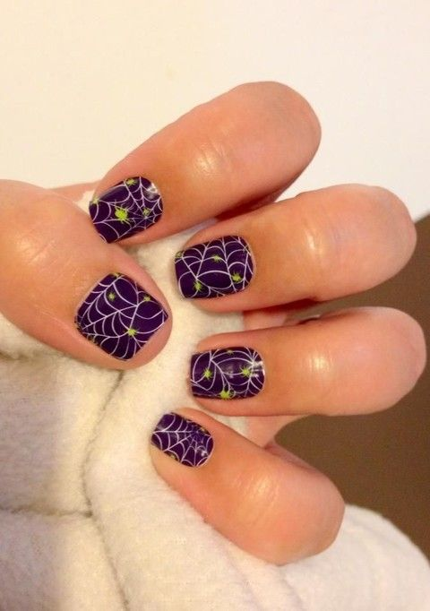 60 hot halloween wedding nails ideas