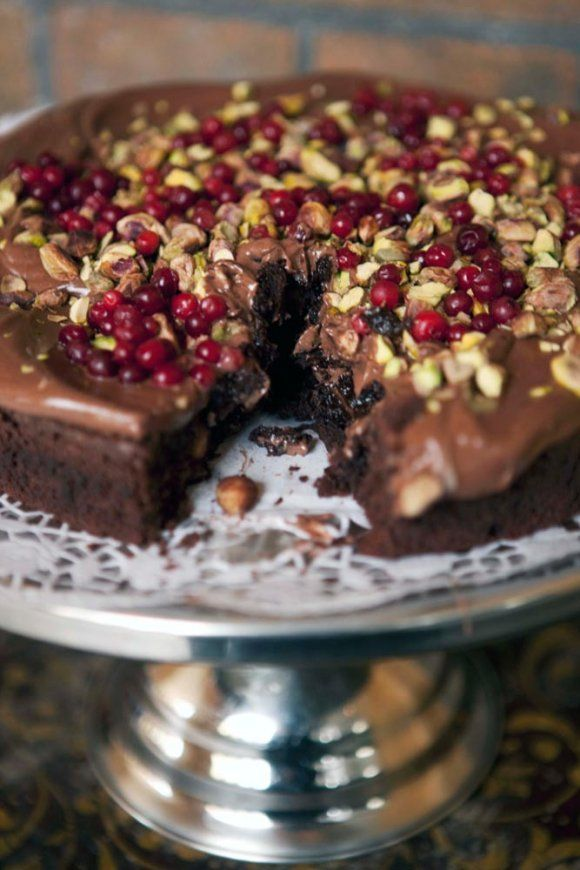 Guilt Free Chocolate Mud Cake