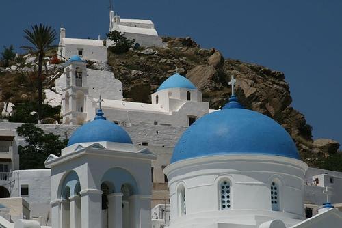 Churches @ #Ios #Aegean Sea #Greece #travel #ttot #travelling2GR #visitGReece