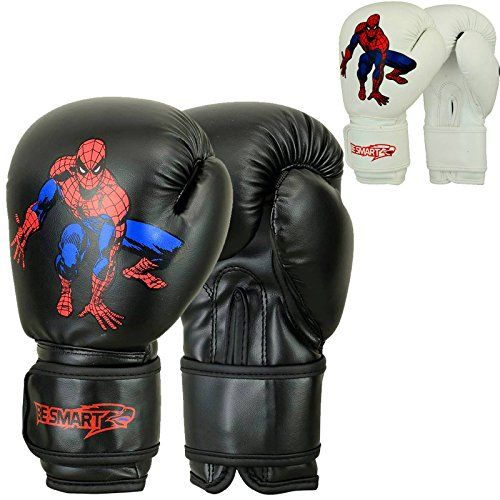 Spider-man Kids Boxing Gloves Junior Mitts 4oz, 6oz Punch Bag Children MMA Youth (Black, 4 Oz) BeSmart http://www.amazon.co.uk/dp/B01B8P1586/ref=cm_sw_r_pi_dp_guaRwb10WPF5Z