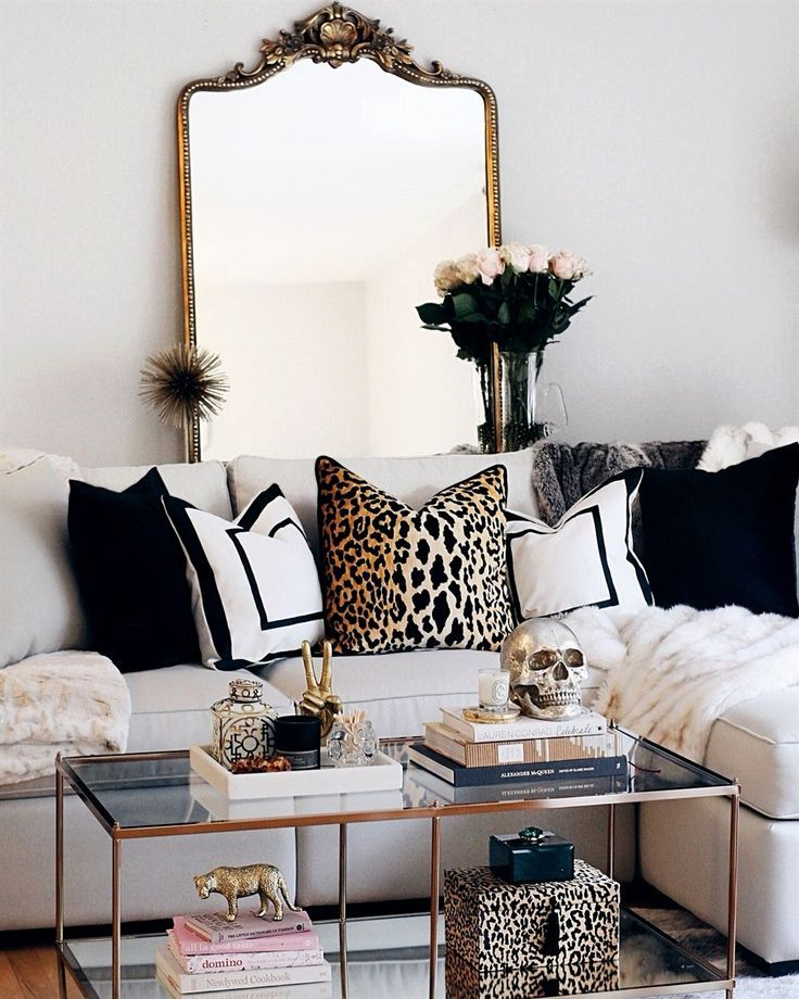 my favorite decor purchases i bought to style our modern glam living rh pinterest com