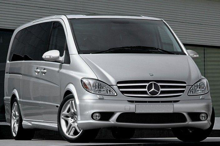 Luxery Mercedes Benz mini vans   Homolagada la MERCEDES VIANO para el servicio de taxi en Barcelona