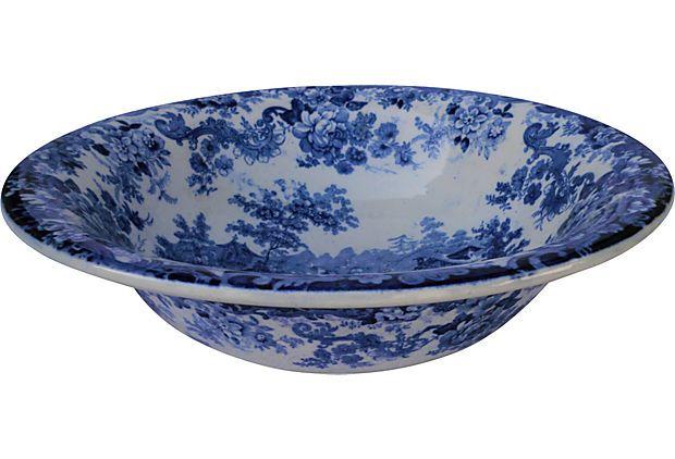 Minton Victorian Serving Bowl on OneKingsLane.com