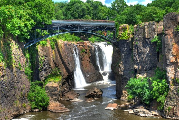Paterson Falls jigsaw puzzle in Puzzle of the Day puzzles on TheJigsawPuzzles.com