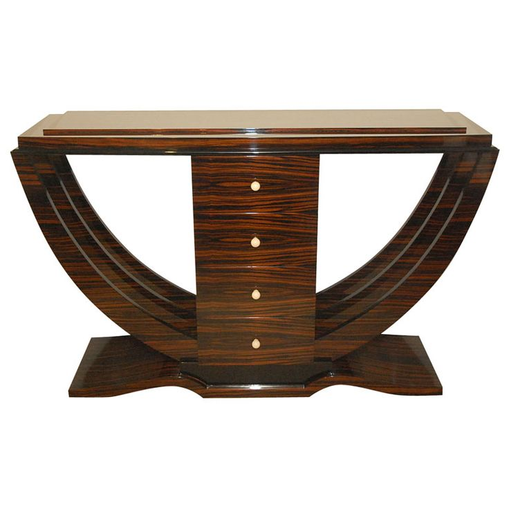 art deco sofa table art deco furniture for consoles collection thesofa. Black Bedroom Furniture Sets. Home Design Ideas