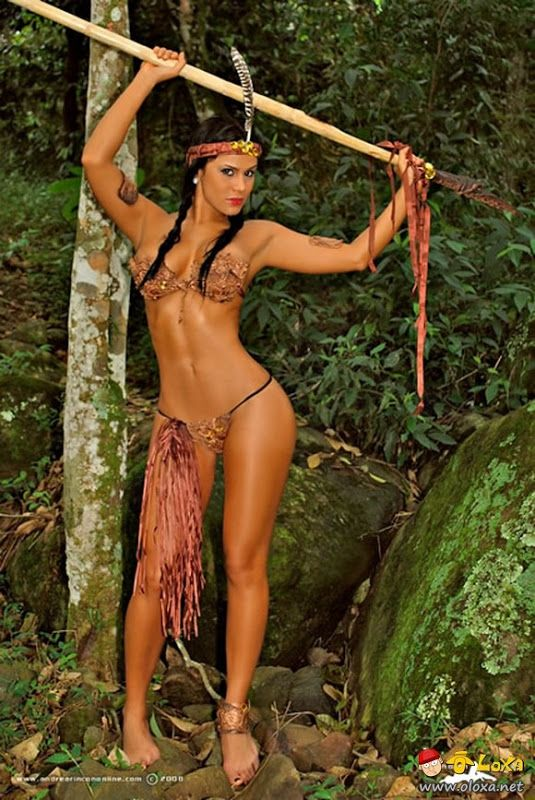 from Ephraim sexy native american warrior women