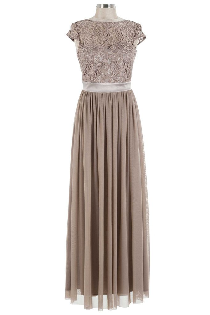 Got A Crush On You Dress - Taupe