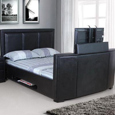 Reuben Upholstered Sleigh Bed | Wayfair UK