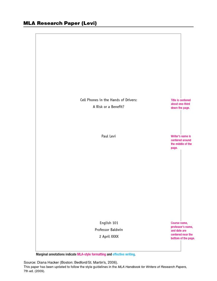 Mla Research Paper Cover. Here Is A Sample Paper In MLA Format That Has  Both The Cover Page And The Outline Pages. This Paper Has 10 Pages So If  You Are ...