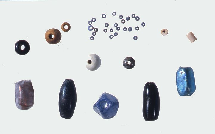 Perles de verre.Pierre Fauteux, © Musée Marguerite-Bourgeoys