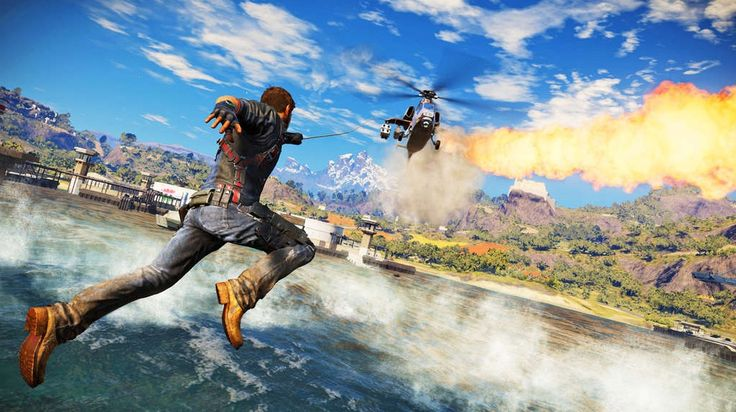 Yet another wave of screenshots of Avalanche Studios' 'Just Cause 3' have hit the net, and to nobody's surprise, there are quite a few explosions in them.