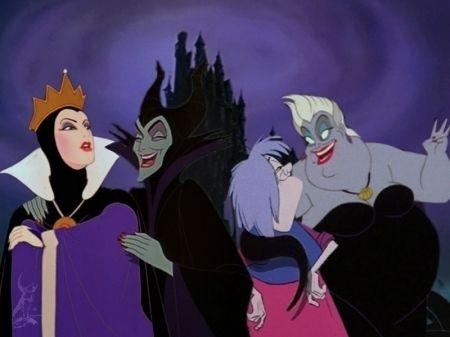 witches chat disney villains fan art