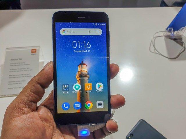 Xiaomi Redmi Go Quick Review A Smart Alternative To Feature Phones Feature Phone Xiaomi Card Storage