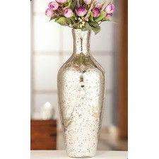 Silver Tone Vase