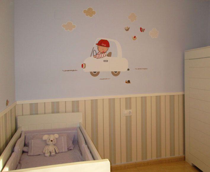 Mejores 77 im genes de vinilos infantiles de stencil - Habitaciones bebe barcelona ...
