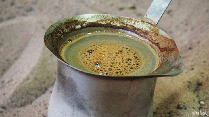 Turkish coffee in Jordan