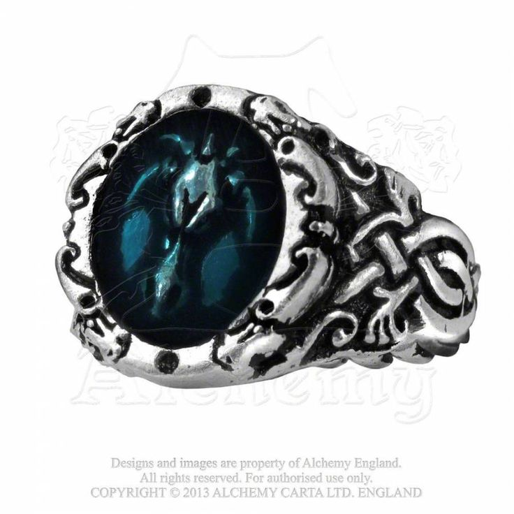 Bague Dragon au motif celtique.