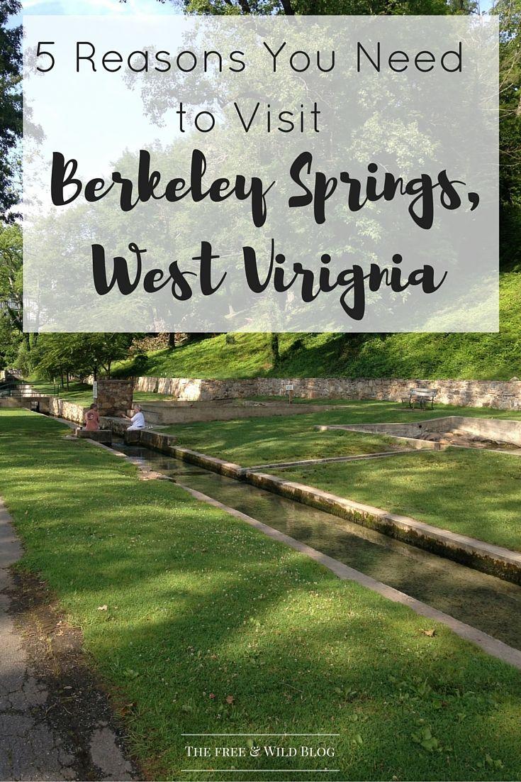 5 Reasons You Need to Visit Berkeley Springs, WV — The Free & Wild Blog