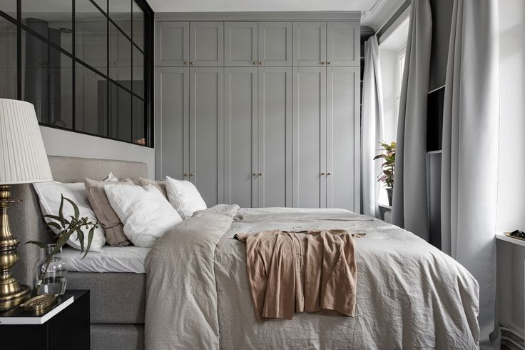 Stylish turn of the century home in grey and beige