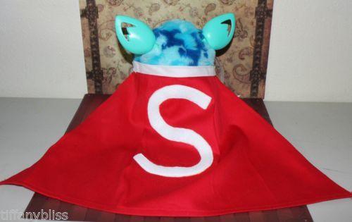 Super Furby Superman Hero Cape Costume Clothes For Furby or Furby Boom OOAK