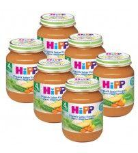 Hipp Organik Sebze Karışımı 125 gr 6 Adet