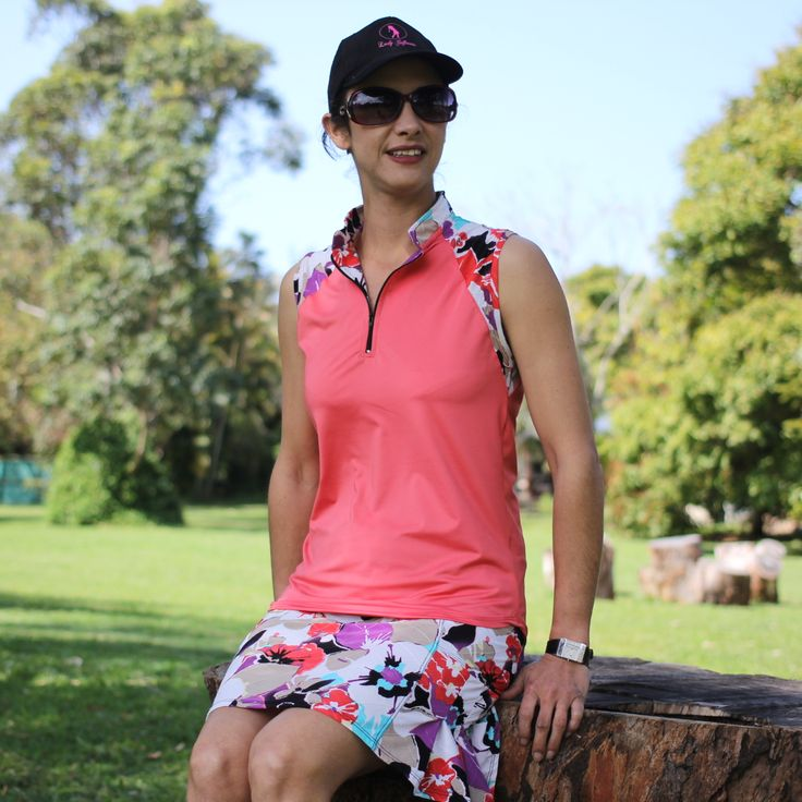 Ladies golf skort in diva print with images golf