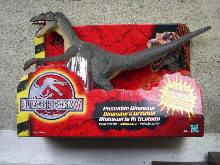 JURASSIC PARK RAPTOR TOYS | Jurassic Park 3 Poseable ...