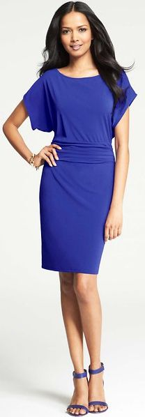a stunning cobalt blue dress   2 days only: 50% off dresses with the code SUMMERSTYLE