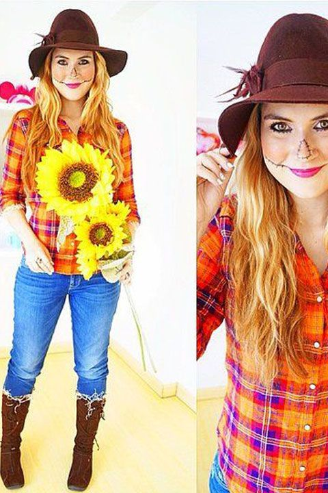 9 Super Easy DIY Halloween Costumes You Won't Believe Are DIY  - Seventeen.com
