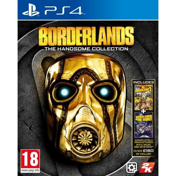 Borderlands The Handsome Collection PS4 Game | http://gamesactions.com shares #new #latest #videogames #games for #pc #psp #ps3 #wii #xbox #nintendo #3ds