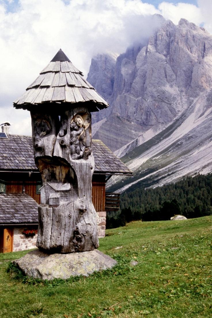 rifugio Brogles, Val Gardena in Italy