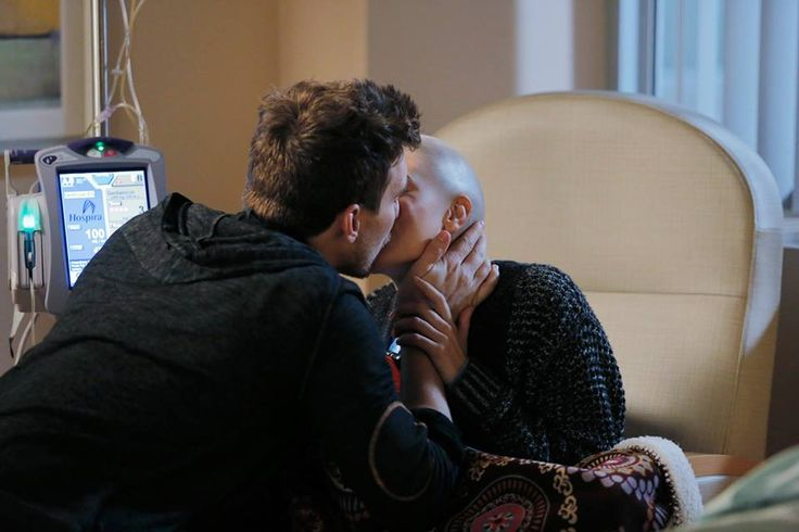 "#ChasingLife 1x21 ""One Day"" - Leo and April"