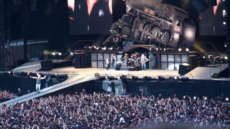 Metal Concert Background