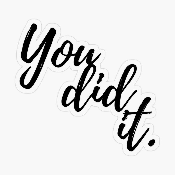 'You did it Quotes Positive Gifts For Graduation