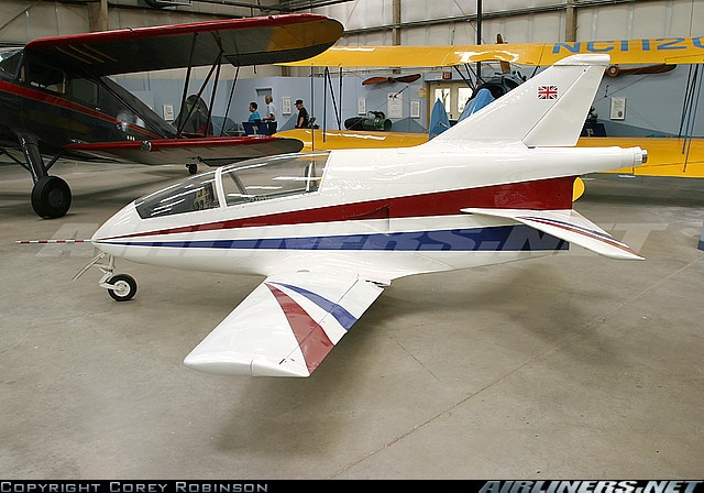 the Bede BD-5J Micro Jet. holds the record for the world's lightest jet aircraft, weighing only 358.8 lb.