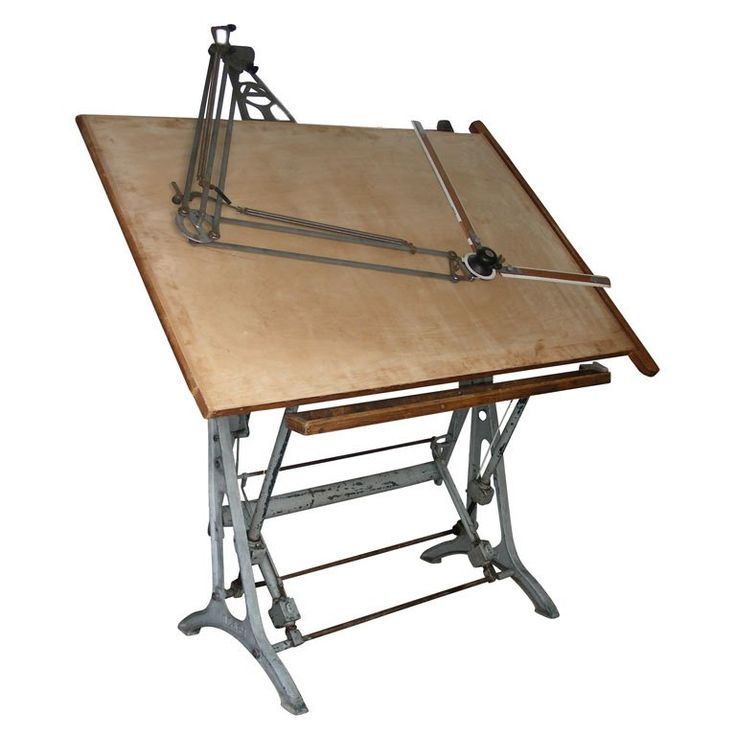 1920-1930 Architect's Drawing Table at 1stdibs