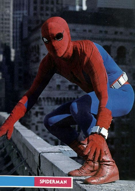 It was because of this series that I fell in love with Spider-Man...Nicholas Hammond ABC Spider-man TV series Photo Gallery
