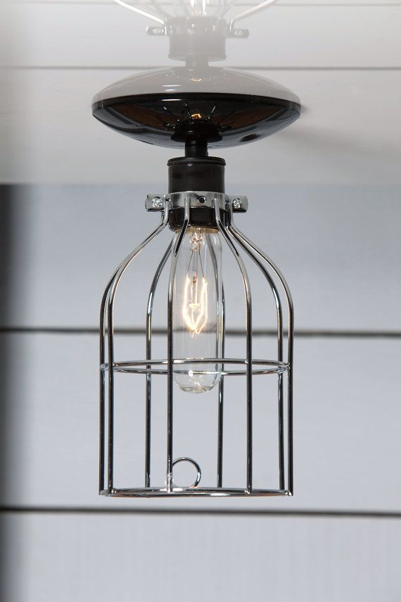 Industrial Ceiling Mount Light