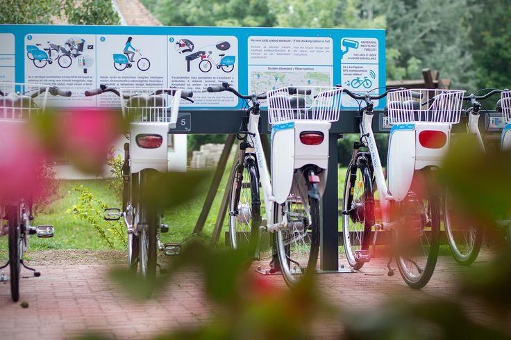 Electric Public Bike Rental System - Vejti station