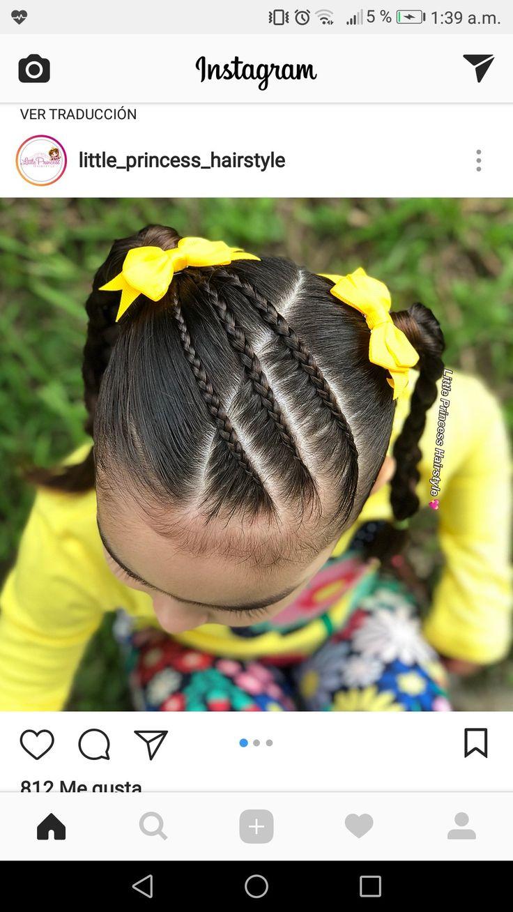 peinados de niña trenza