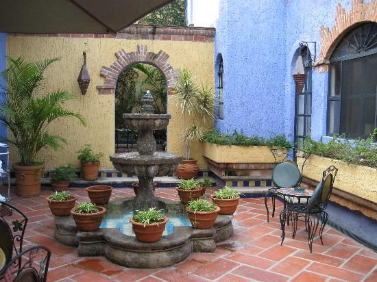 Pin by flor de guisante on patios mexicanos y andaluces - Patios con estilo ...