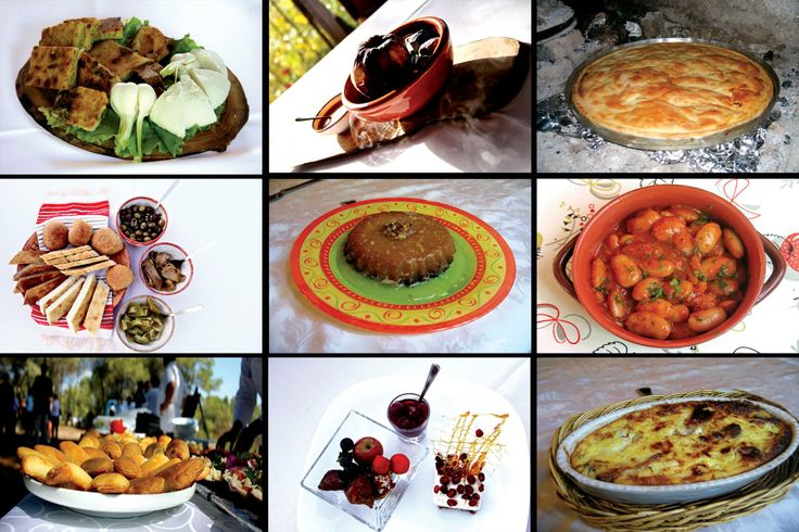 Traditional albanian food collage enjoy albanian for Albanian cuisine