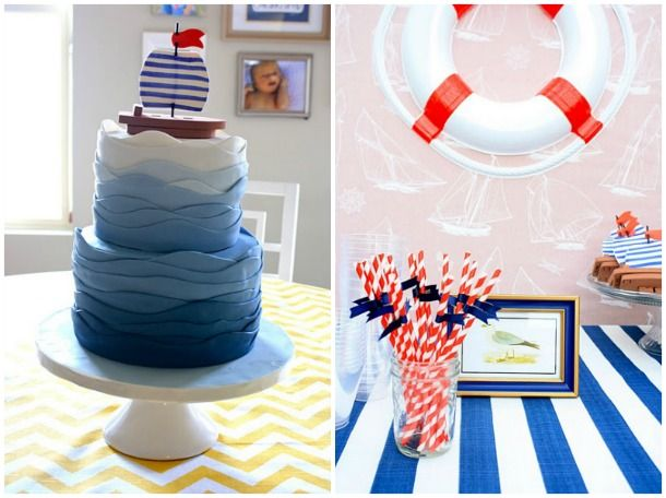 nautical party decorations nautical party tend by. Black Bedroom Furniture Sets. Home Design Ideas