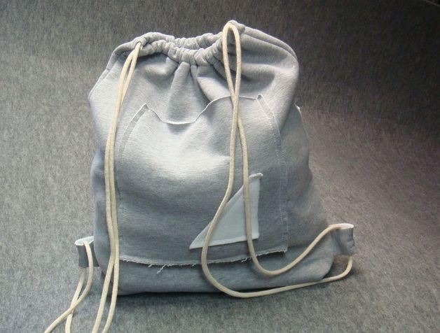 Cudny Worek - Plecak z Bawełny Ściągany Sznurkiem - The_Way_of_Kleopatra - Plecaki