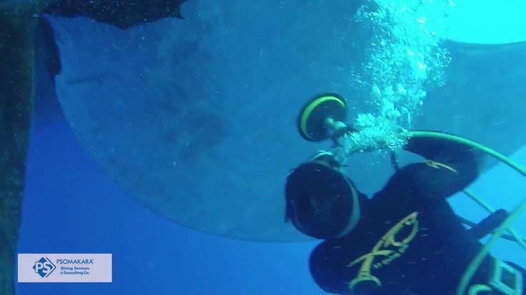 Underwater propeller polishing, Underwater propeller cleaning