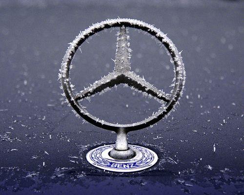 FROZEN STAR II Mercedes Benz W124 @ five degrees below zero