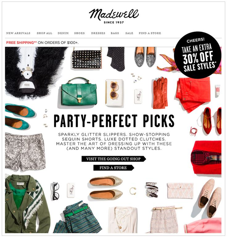Madewell : Product Laydown