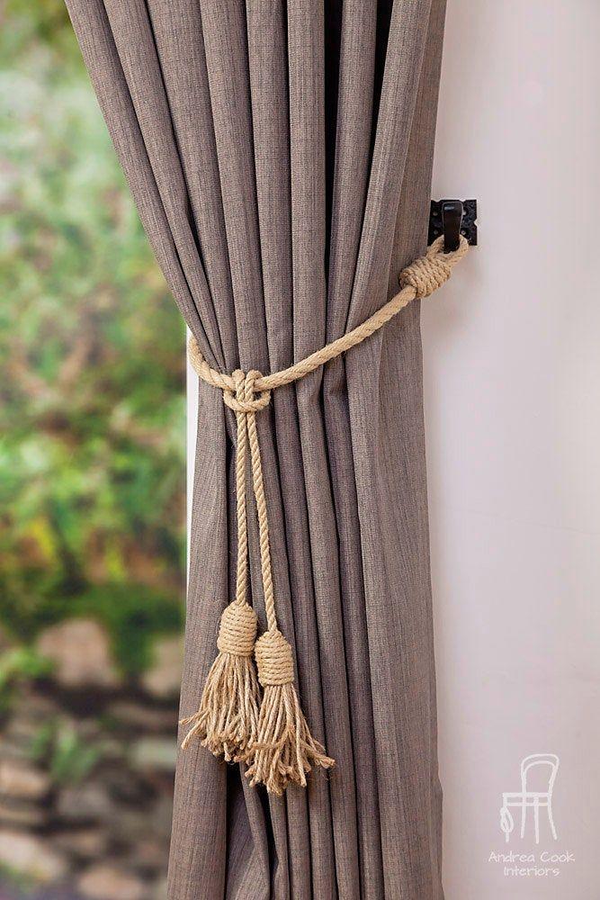 Pin On Beige Curtain Tiebacks