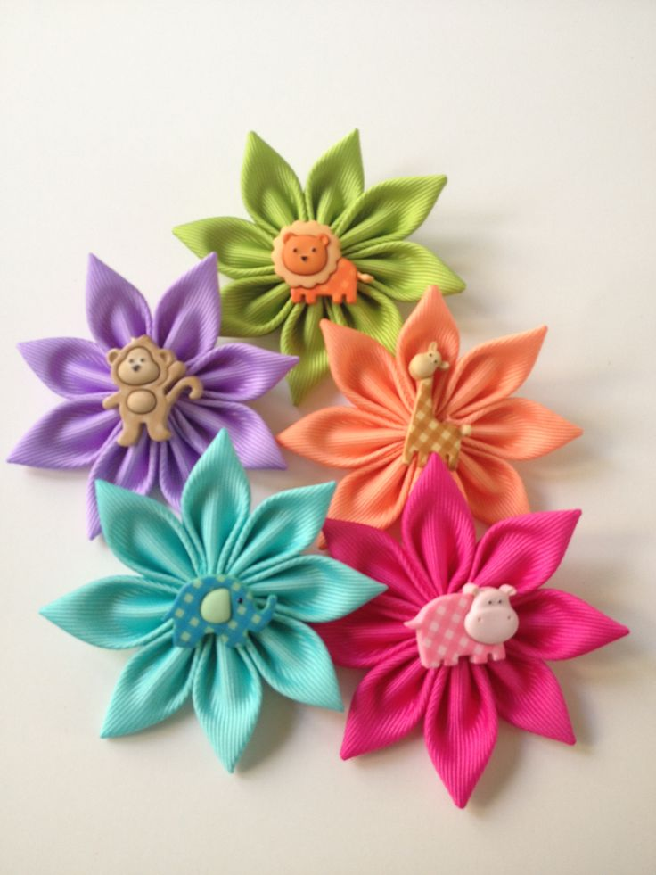 How to make a paper ribbon flower vaydileforic how to make a paper ribbon flower flower making with paper ribbon mightylinksfo